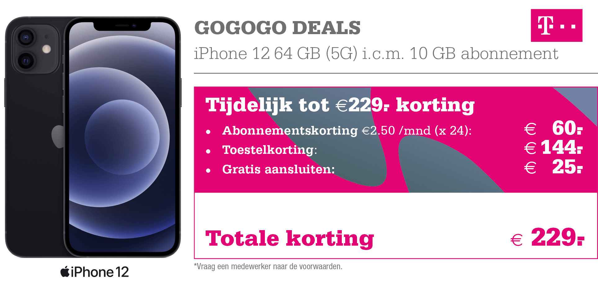T-Mobile GoGoGo Deals iPhone 12
