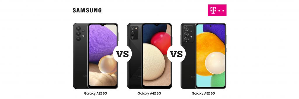 Samsung Galaxy A32 vs Samsung Galaxy A42 vs Samsung Galaxy A52